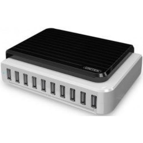 Hub USB 2.0 10 Ports + OTG Unitek (Y - 2155)